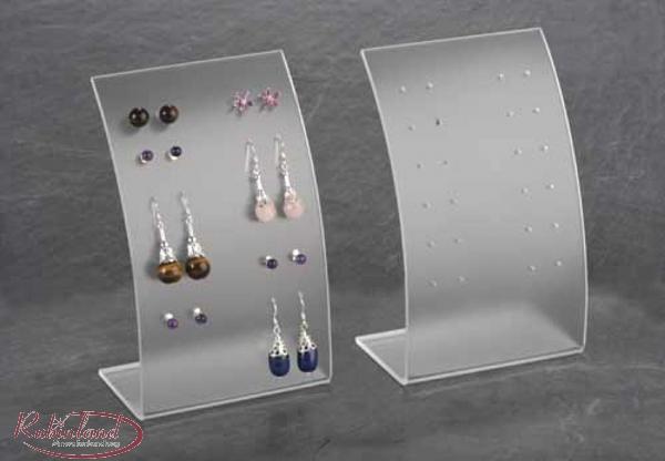ohrringst nder f r 12 paar ohrstecker acryl rubinland mineralien und schmuckgro handel. Black Bedroom Furniture Sets. Home Design Ideas