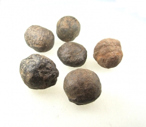 Moqui Marbles Paar aus den USA ca. 15 bis 30 mm