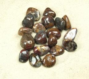 Pietersit aus China Trommelsteine in Grösse L VE=250 gr.