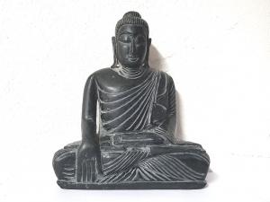 Buddha Gravur aus Onyx ca. 170 x 150 mm / ca. 1680 Gramm