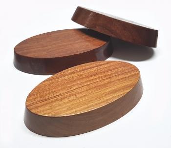 3er Set großePräsentations - Podeste aus Holz ca. 117x 65x 19 mm - Sonderposten