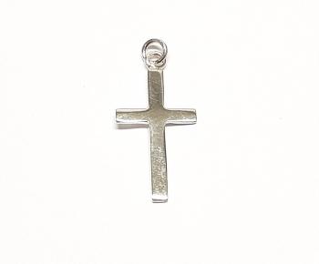 3er Set Kreuz klassisch Anhänger aus 925 Silber ca. 24 x 11 mm an Ringöse