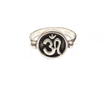 Ohm - Fingerring aus 925 Silber