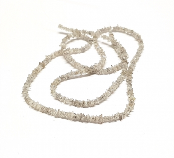 DiamantStrang Splitter ca. 2mm / ca. 36 cm - Einzelstück