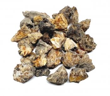 500 Gramm Bernstein Rohsteine ca. 3-6cm