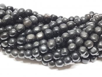 14 gebohrte natürliche Aquamarin Perlen Freiform facettiert aus Brasilien