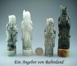 Chinesischer heiliger Mann aus Burma - Jade / Jadeit A/B Qual.