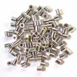 300 Quetschröhrchen Quetschperlen aus 925 Silber ca. 13 gr.