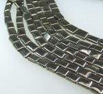 Pyrit Rechteckstrang ca.7 x 10 mm / 40 cm