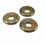 Chalcedon Kugelkette ca. 8 mm / ca. 50 cm einzeln geknotet