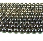 Rauchquarz A Kugelstrang ca. 12 mm / ca. 40 cm