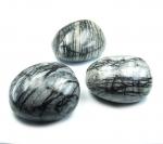 Netzjaspis Jumbotrommelsteine ca. 60-70 mm