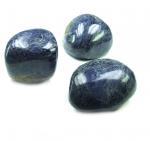 Sodalith Jumbotrommelsteine ca. 60-70 mm