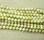 Lemon Jade Kugelstrang ca. 8 mm / ca. 40 cm