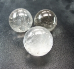 Bergkristall A Kugeln in 37 bis 43 mm