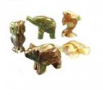 Onyx - Marmor Tierfiguren ca. 7,5 cm
