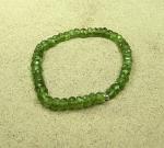 Carneol Buttonarmband ca. 4 - 5 mm / ca. 18-19 cm