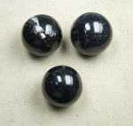 Schörl ( schwarzer Turmalin ) Kugel ca. 50 - 55 mm / ca. 200-300 Gramm