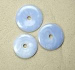 Chalcedon Donut Anhänger ca. 50 bis 56 mm