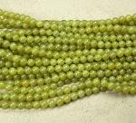 Olivjade Kugelstrang ca. 8 mm / ca. 40 cm