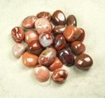 Silberblatt - Jaspis rot Trommelsteine in Grösse L - VE = 500gr