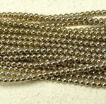 Hämatit Kugelstrang goldfarben ca. 4 mm / ca. 40 cm