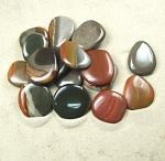 Polychromjaspis Scheibensteine / Taschensteine aus Madagaskar - ca. 500gr
