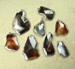 Chalcedon Kugelkette ca. 6 mm / ca. 45 cm