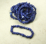 Lapislazuli Scheibenarmband ca. 8 mm / ca. 19 cm
