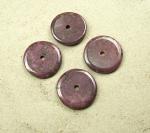 Rubin - Donut aus indischer Produktion ca. 35-39 mm