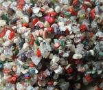 500 Gramm Chips gemischt - gebohrt ca. 3-10 mm