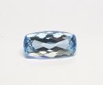 Topas Blau Baguetteschliff facettiert ca. 7 x 14 mm /  ca. 4,5 - 5,1 ct / st.