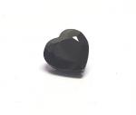 Saphir schwarz Herz facettiert ca. 6x6 mm / ca. 0,9-1,2 ct.