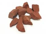 1 Kg roter Jaspis Dekosteine aus Brasilien ca. 20-50 mm