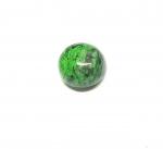 Chloromelanit - Jade Cabochon aus Myanmar / Burma ca. 19 mm