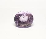 Amethyst oval facettiert ca. 16 x 14 mm