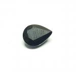 Mitternachtsblauer Saphir Tropfenform facettiert  ca. 8,5 x 11  mm / ca. 4,00 ct.