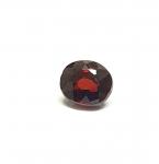Spinell dunkelrot aus Burma / Myanmar facettiert ca. 6,7x6,4 mm / ca. 1,3 ct.