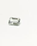 Aquamarin - Rechteck facettiert - ca. 6x4 mm / ca. 0,4-0,5 ct.