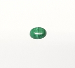 Malachit oval Cabochon ca. 8 x 6 mm