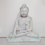 Buddha Statue aus Jade ( Jadeit ) / Myanmar - Burma - ca. 3,9 Kg ca. 23 x 21 cm