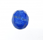 Lapislazuli oval facettiert ca. 26 x 20 mm