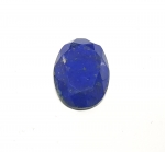 Lapislazuli oval facettiert ca. 28 x 20 mm