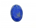 Lapislazuli oval facettiert ca. 50 x 33 mm