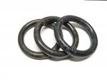 Armreif aus schwarzer Burma - Jade ( Jadeit ) Innendurchmesser: ca. 60 - 61 mm