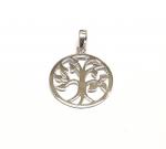 Baum des Lebens Anhänger aus 925 Silber Gr. S / ca. 26x19 mm