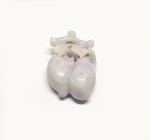 Jadeit - Lavendeljade Anhänger ca. 38 x 26 mm - Einzelstück
