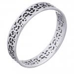Fingerring aus 925 Silber mit durchbrochenem Muster