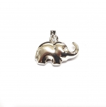 Elefanten Anhänger dreidimensional aus 925 Silber ca. 17 x 17 mm