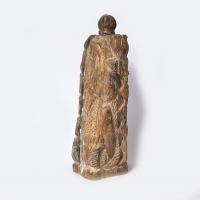 versteinertes Holz Räucherstäbchenhalter ca. 14,5 x 5 cm / Einzelstück